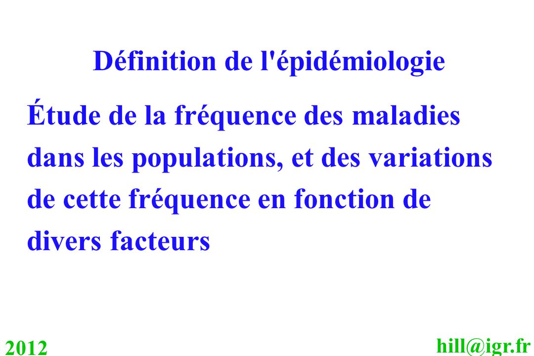 D finition de l 39 pid miologie ppt video online t l charger for Definition de l