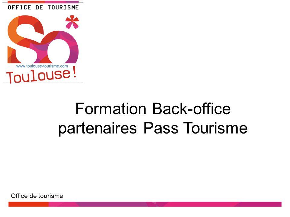 Formation Back-office partenaires Pass Tourisme