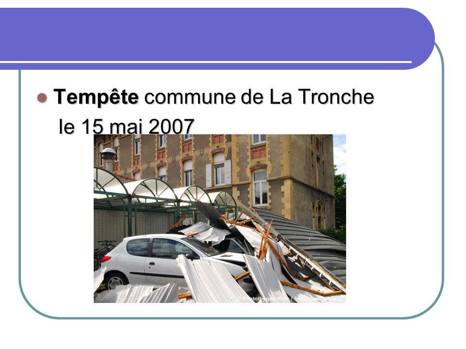 Tempête commune de La Tronche