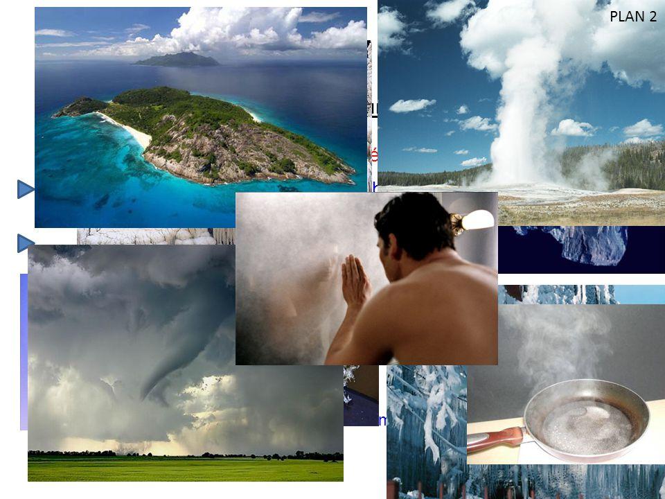 L eau liquide : l état liquide (rivière, océan, nuage, pluie …)
