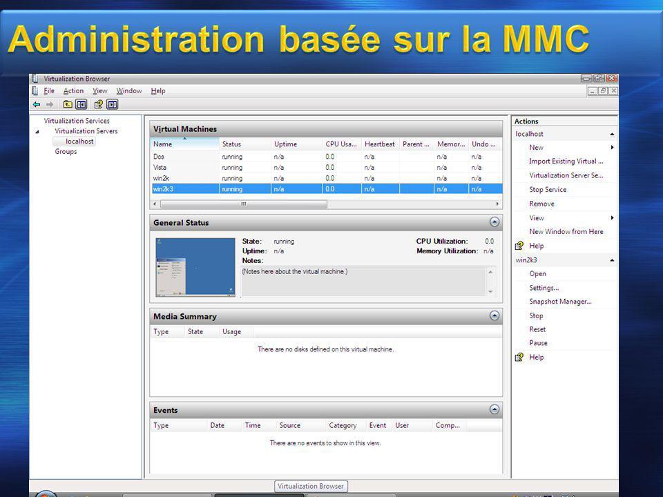 Administration basée sur la MMC