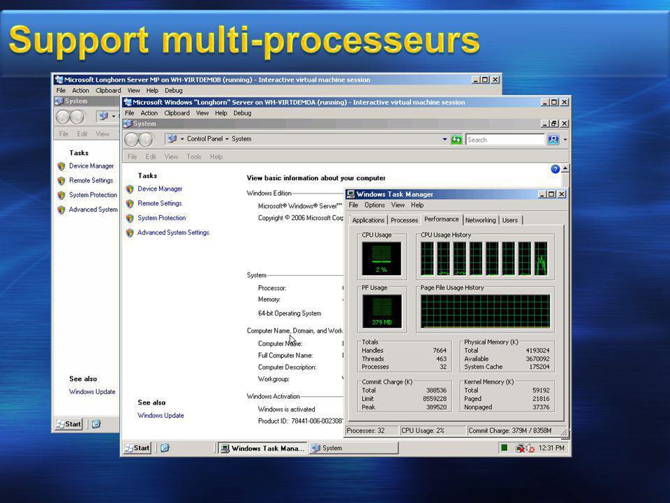 Support multi-processeurs