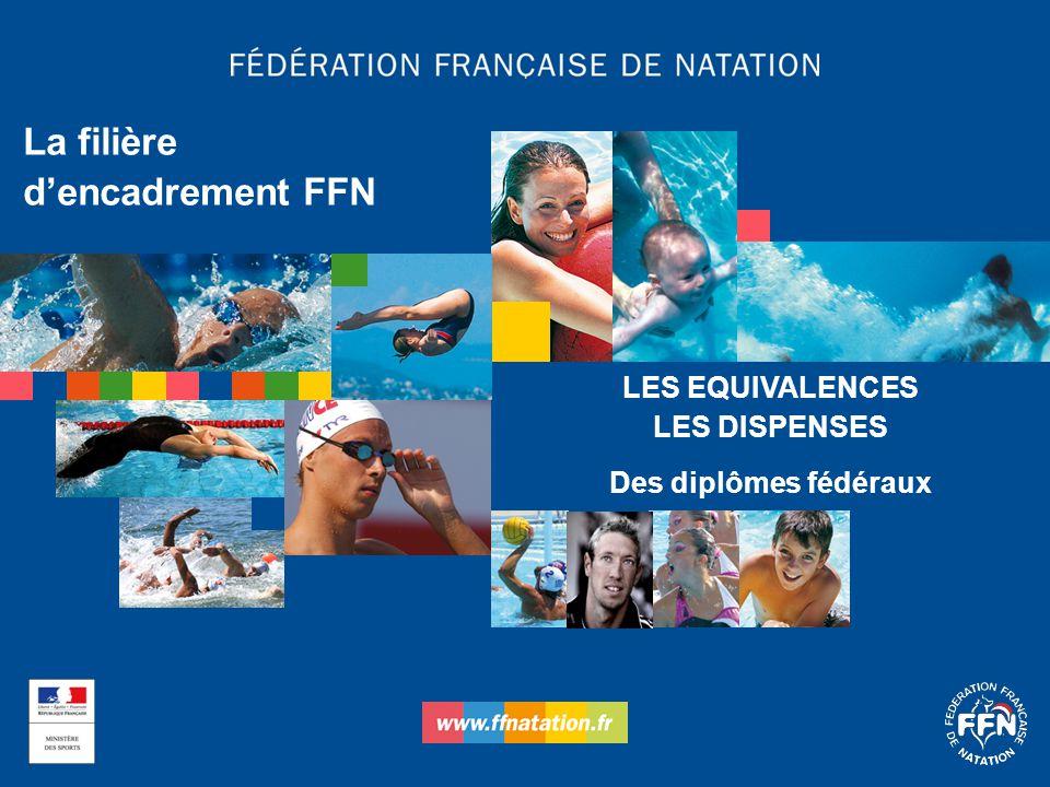La filière d'encadrement FFN