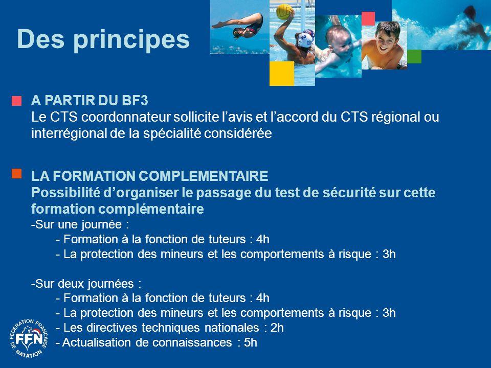 Des principes A PARTIR DU BF3