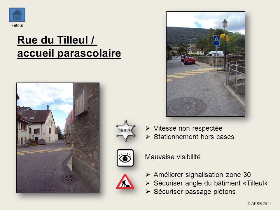 Rue du Tilleul / accueil parascolaire