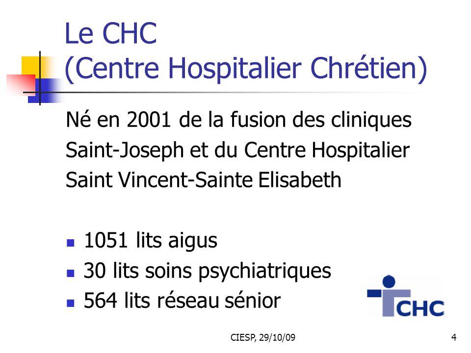 Le CHC (Centre Hospitalier Chrétien)
