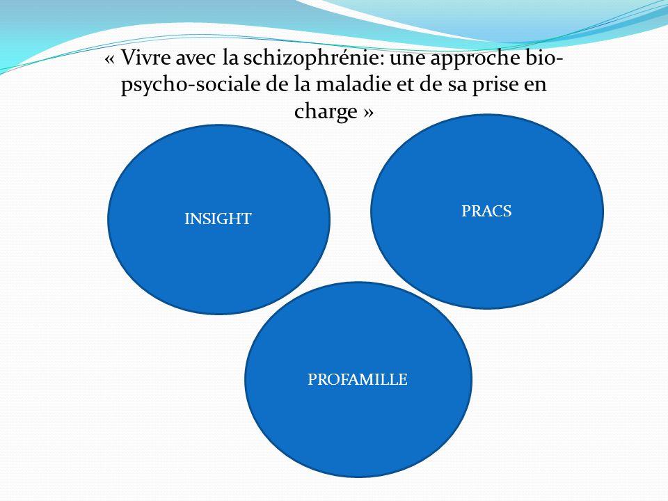 « Vivre avec la schizophrénie: une approche bio-psycho-sociale de la maladie et de sa prise en charge »