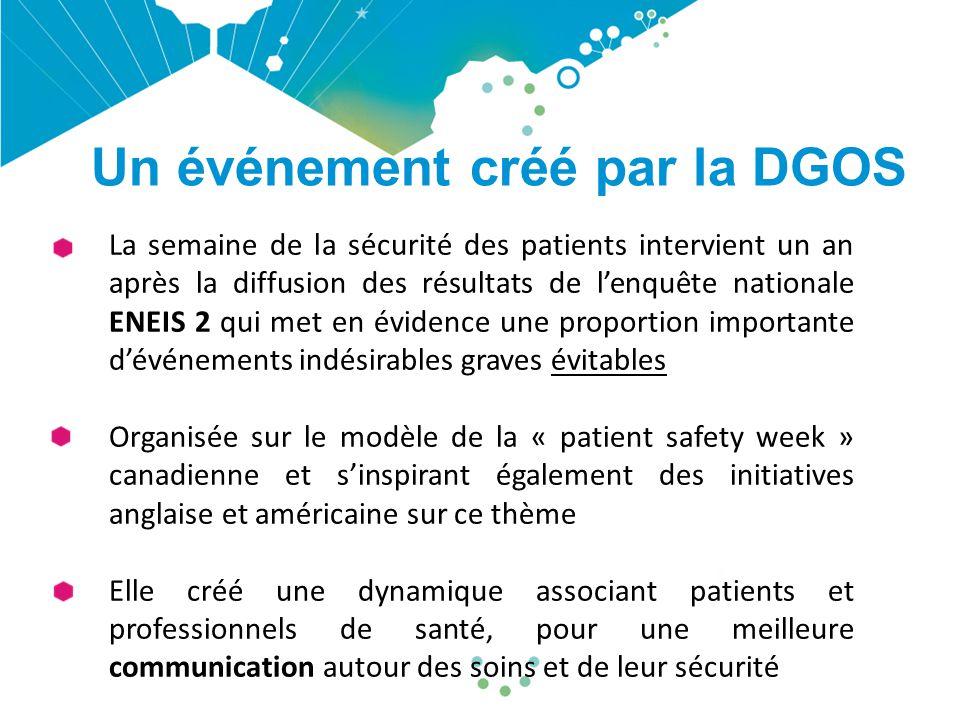 Un événement créé par la DGOS
