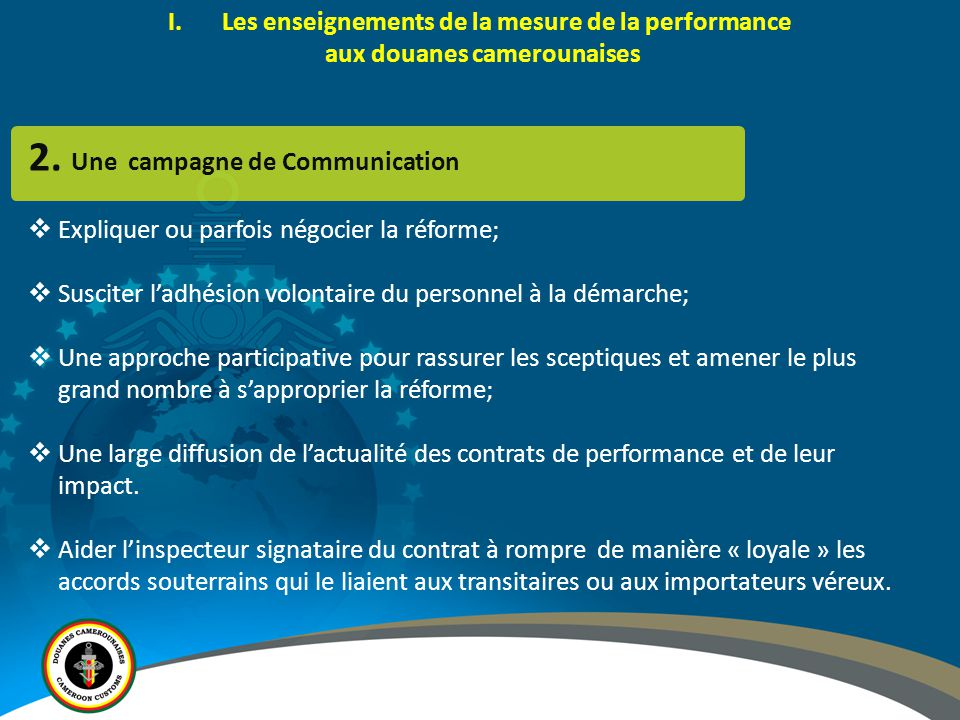 2. Une campagne de Communication