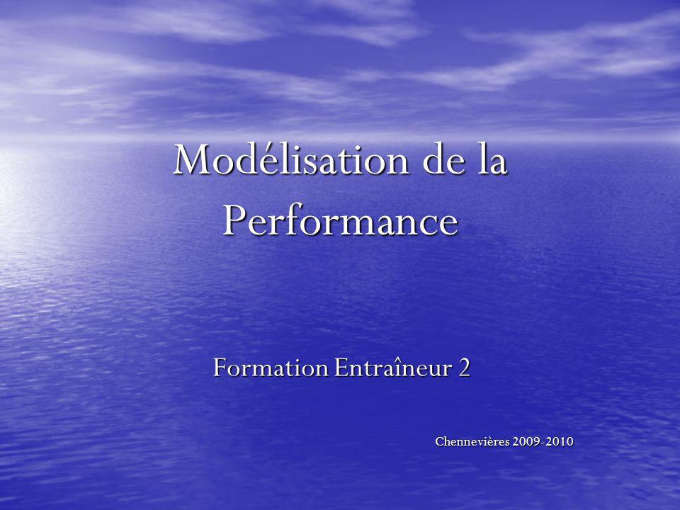 Modélisation de la Performance