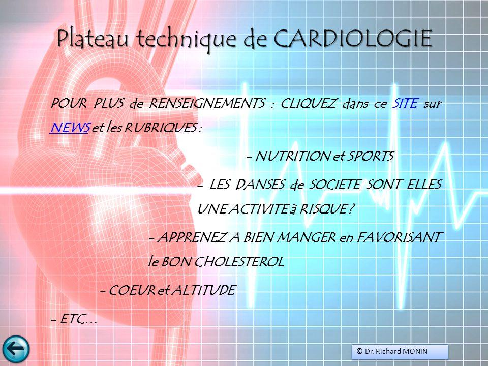 Plateau technique de CARDIOLOGIE