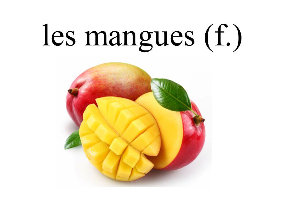 les mangues (f.)
