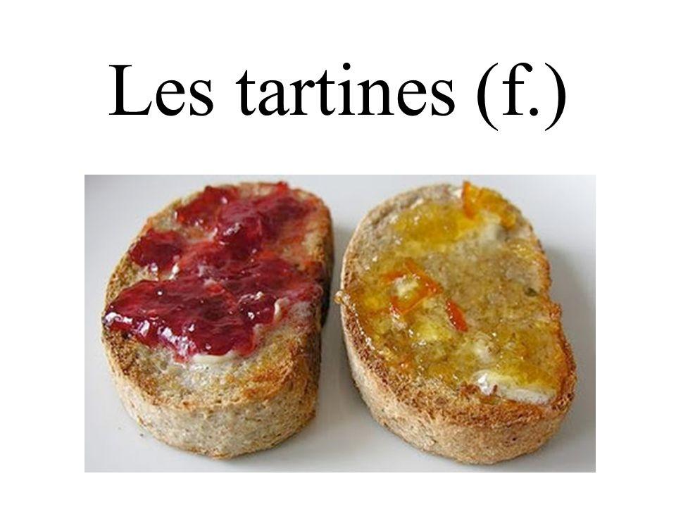 Les tartines (f.)