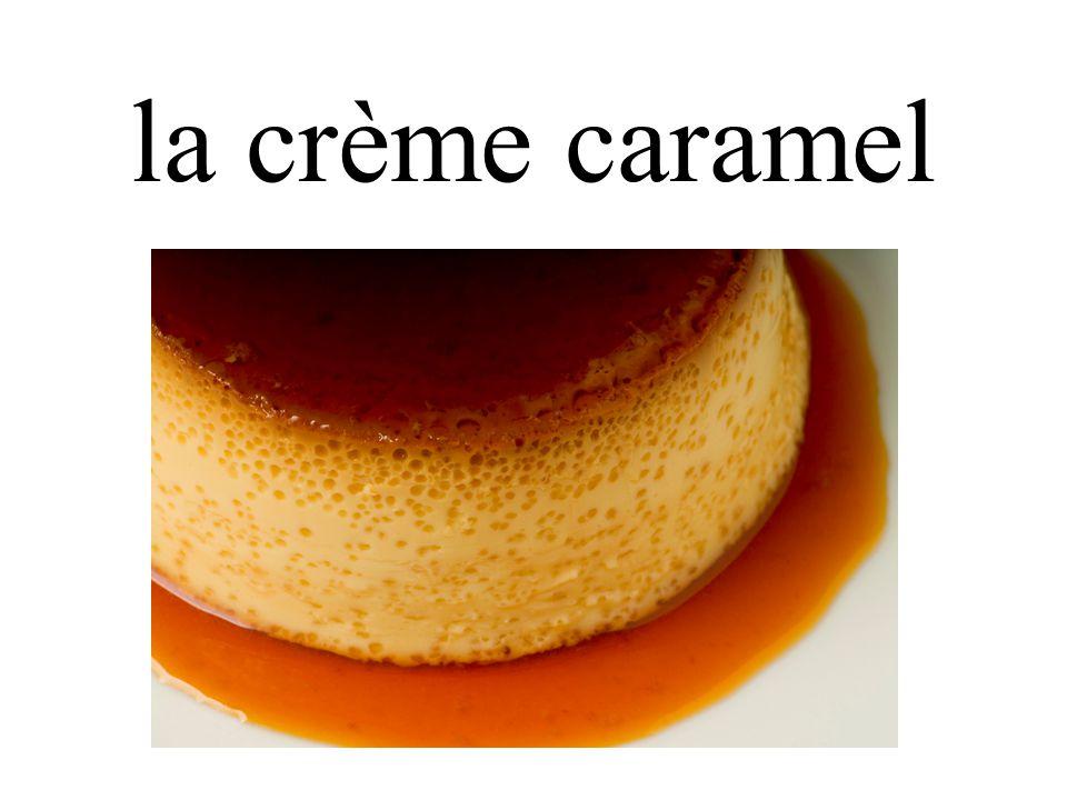 la crème caramel