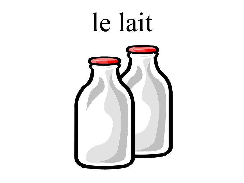 le lait
