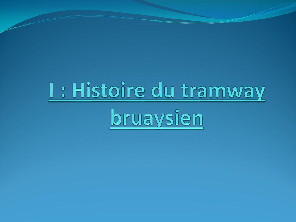 I : Histoire du tramway bruaysien