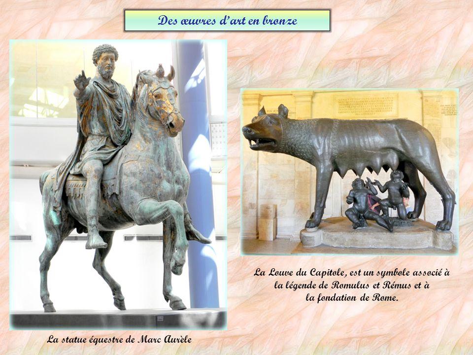 Des œuvres d'art en bronze