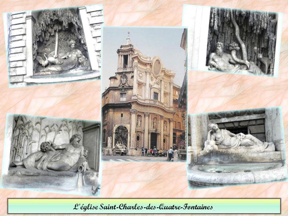 L église Saint-Charles-des-Quatre-Fontaines