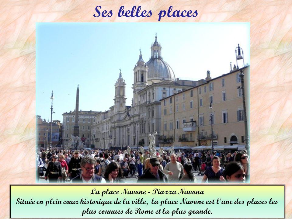 La place Navone - Piazza Navona