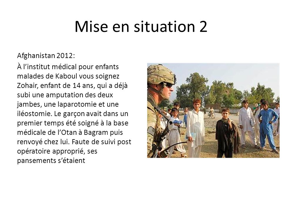 Mise en situation 2