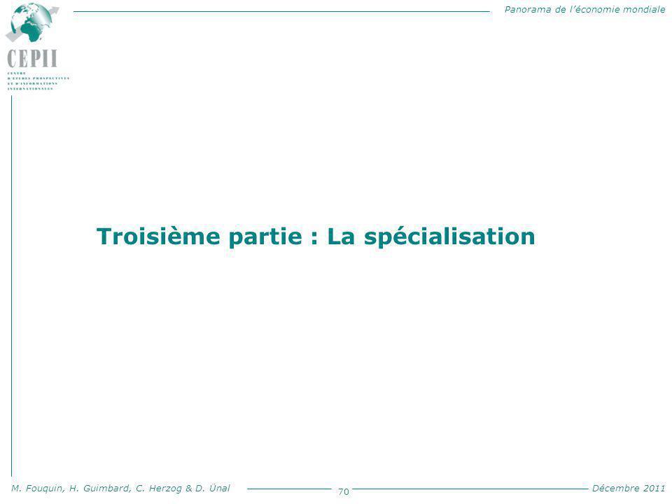 Troisième partie : La spécialisation