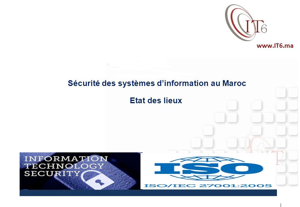 Sécurité des systèmes d'information au Maroc