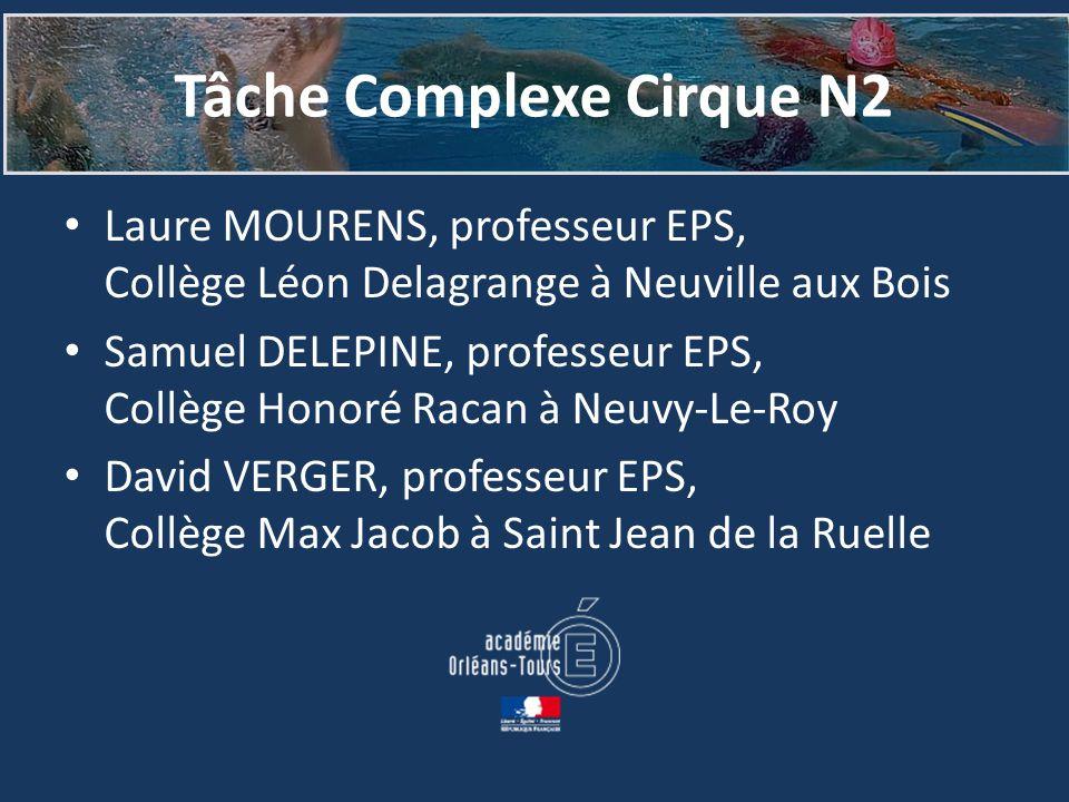 Tâche Complexe Cirque N2