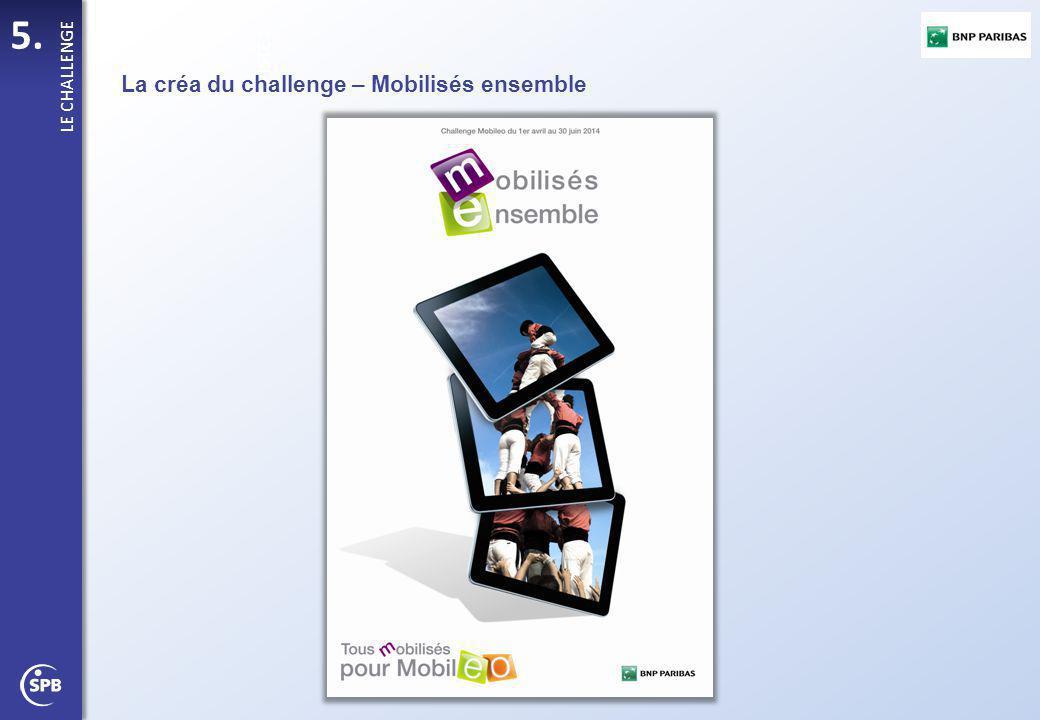 La créa du challenge – Mobilisés ensemble