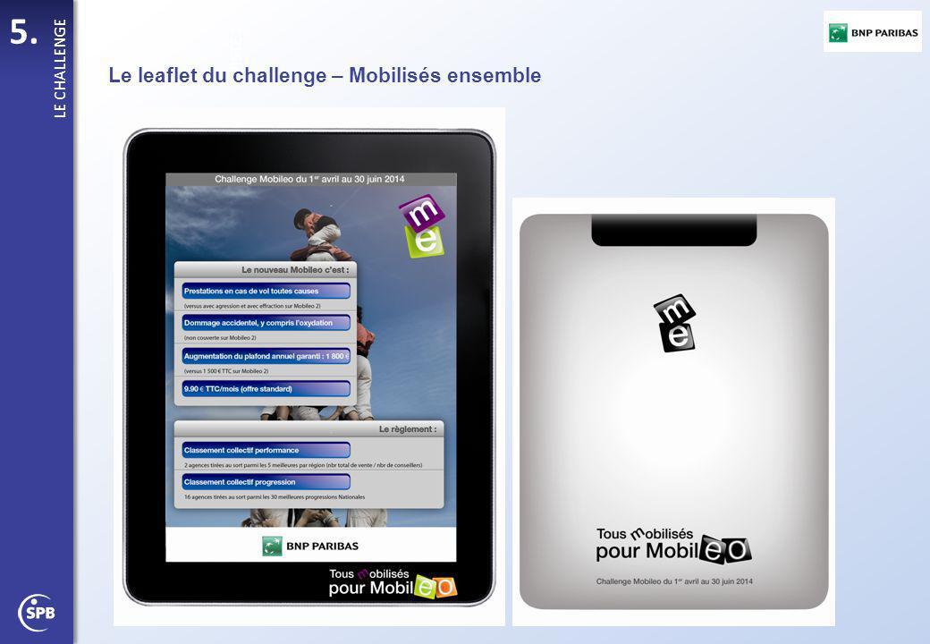 Le leaflet du challenge – Mobilisés ensemble