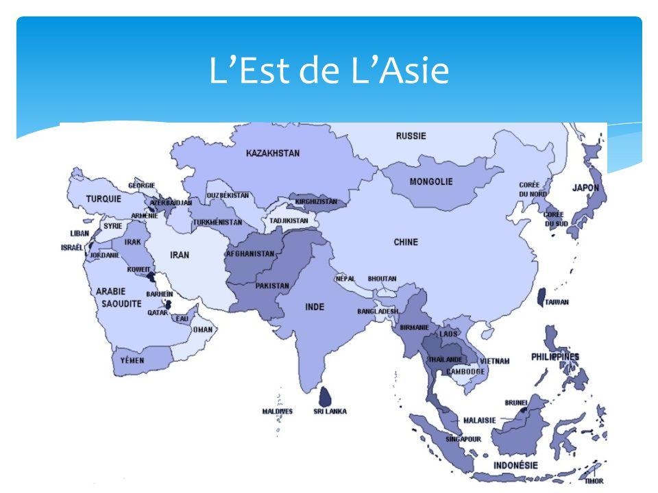 L'Est de L'Asie