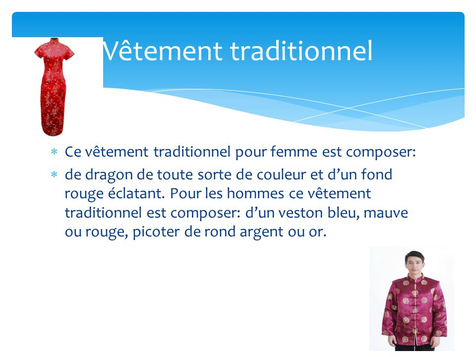 Vêtement traditionnel