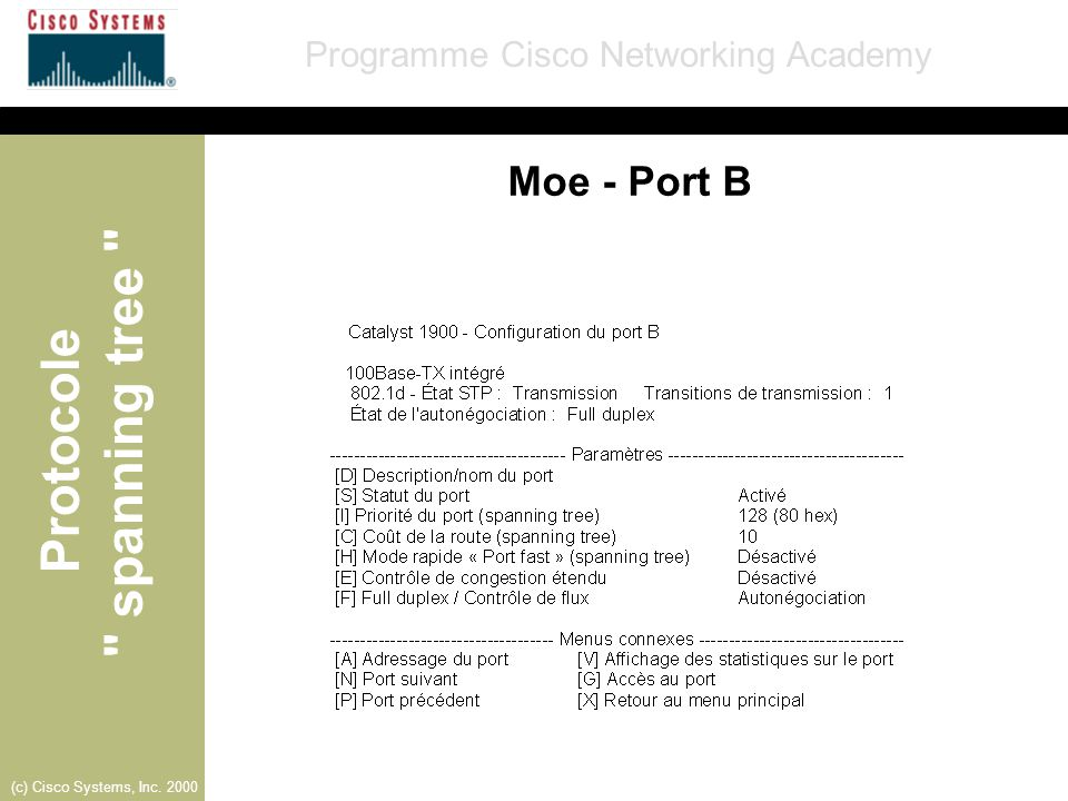 Moe - Port B