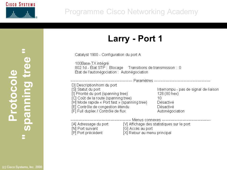 Larry - Port 1