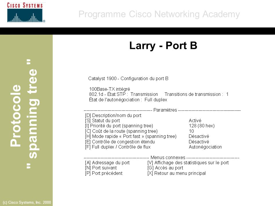 Larry - Port B