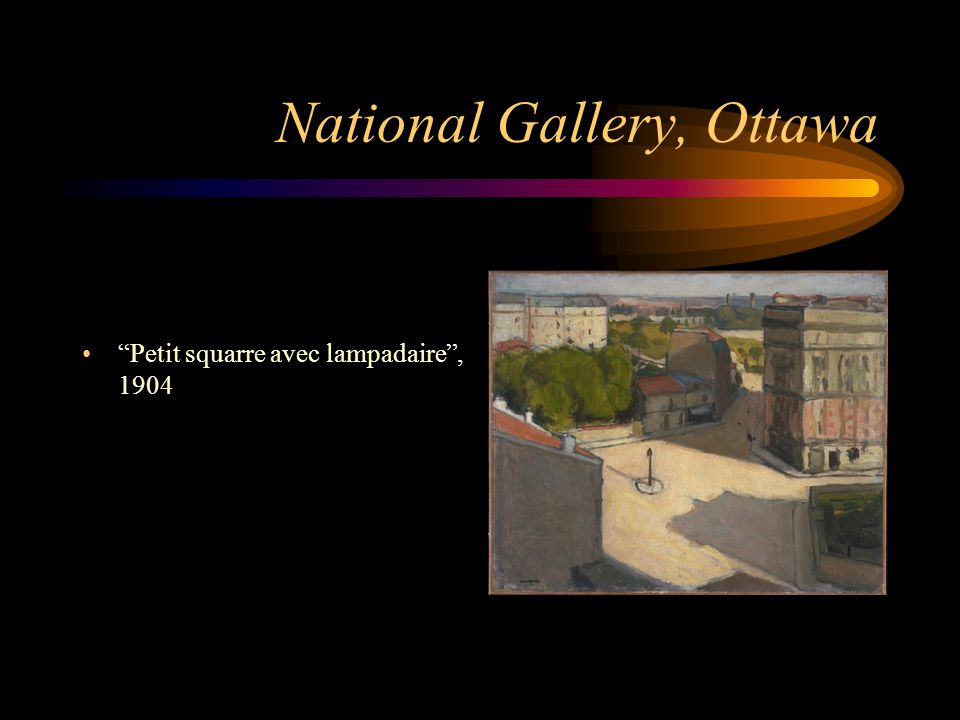 National Gallery, Ottawa