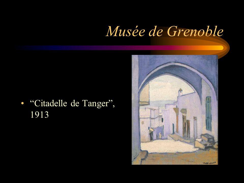 Musée de Grenoble Citadelle de Tanger , 1913