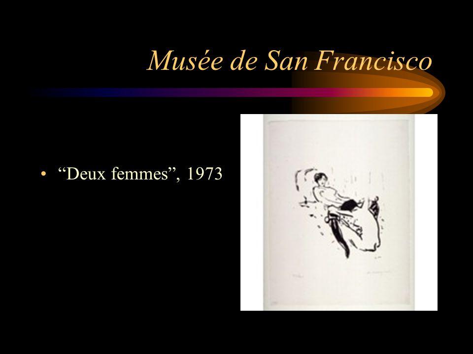 Musée de San Francisco Deux femmes , 1973