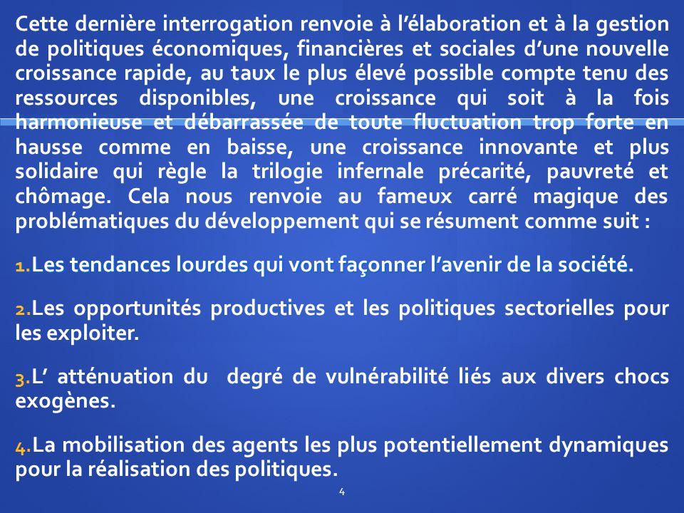 II/ L'industrialisation comme pivot des politiques sectorielles dans les économies émergentes