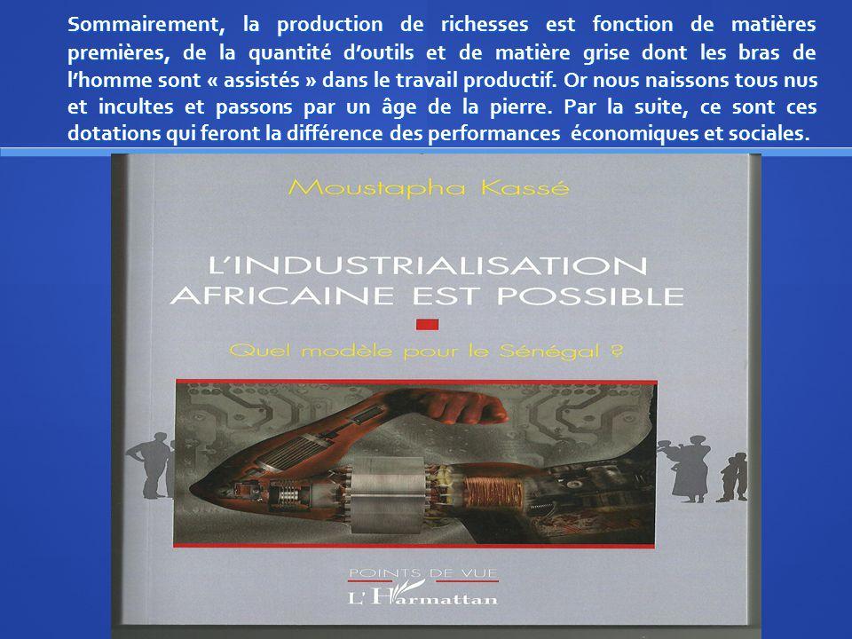 III/ Qu'en est-il pour le Sénégal