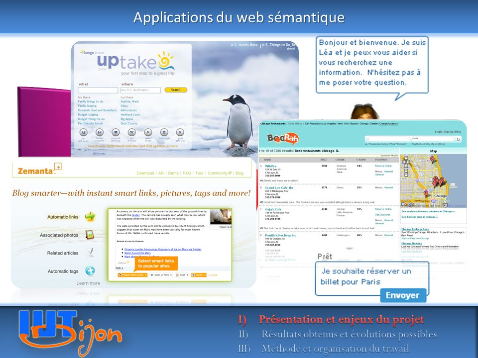 Applications du web sémantique