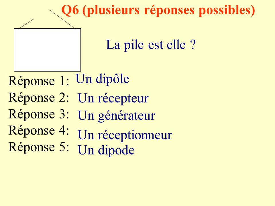 Q6 (plusieurs réponses possibles)