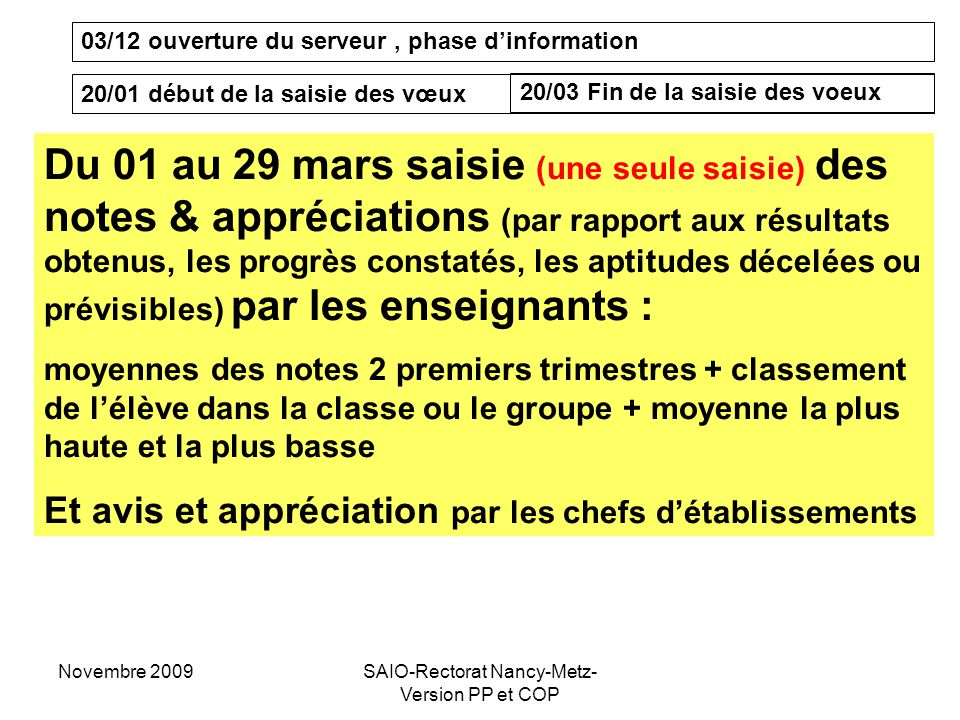 SAIO-Rectorat Nancy-Metz- Version PP et COP