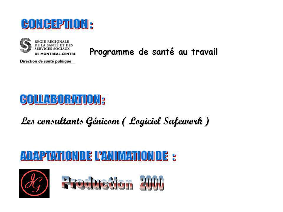 ADAPTATION DE L ANIMATION DE :