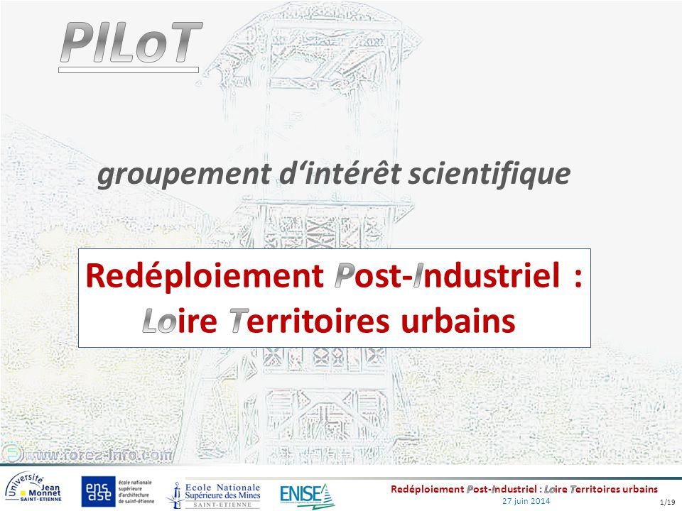 Redéploiement Post-Industriel : Loire Territoires urbains