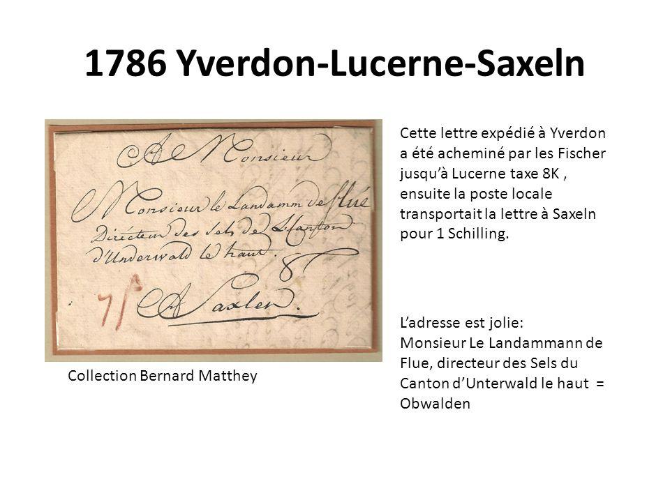 1786 Yverdon-Lucerne-Saxeln