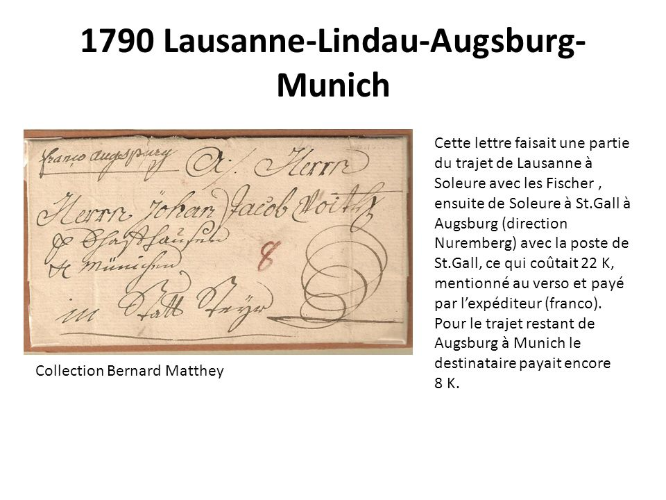 1790 Lausanne-Lindau-Augsburg-Munich