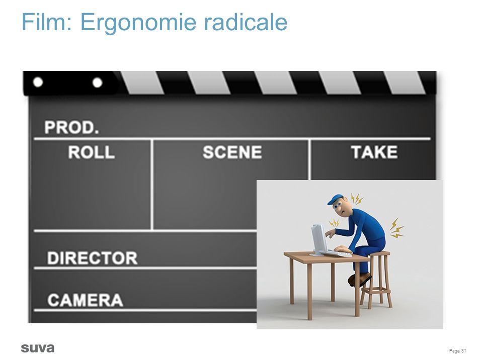 Film: Ergonomie radicale