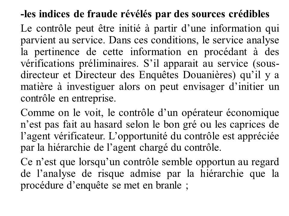 -les indices de fraude révélés par des sources crédibles