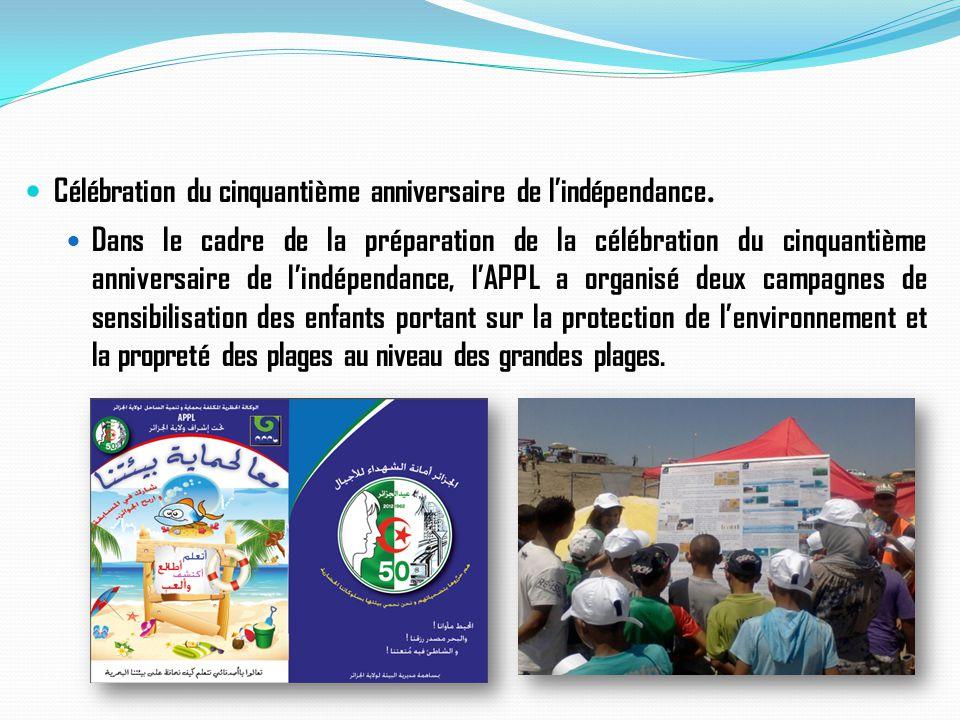 Célébration du cinquantième anniversaire de l'indépendance.