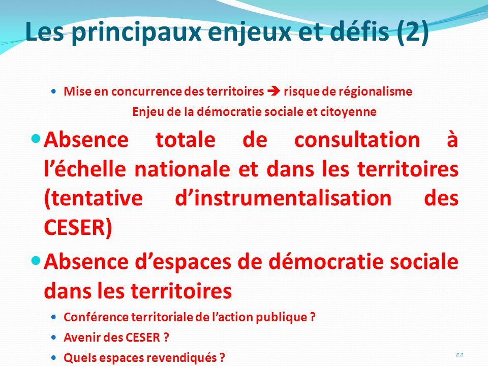 Enjeu de la démocratie sociale et citoyenne